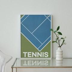 DIY 챌린지포스터 테니스 set