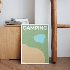 DIY 챌린지포스터 캠핑 set