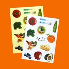 Vintage Sticker_Salad