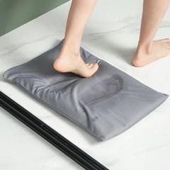 메이스 규조토발매트 미끄럼방지 패드+사포 빨아쓰는 규조토