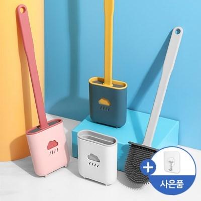 메이스 화장실 실리콘 변기솔 욕실 청소 벽걸이 변기 일회용