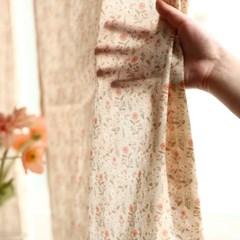 코지 잔꽃 가리개 커튼(2 size)/테이블보 활용