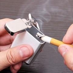 메탈 휴대용 담배 재떨이 쓰레기통 3color 냄새차단 재털이 케이스