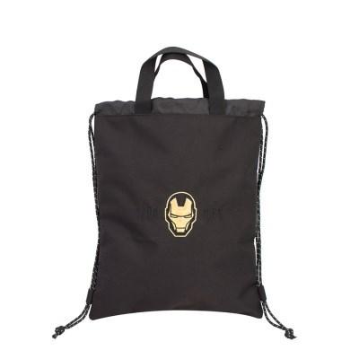 블랙 아이언맨 인피니티 보조가방