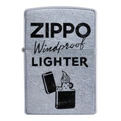 ZIPPO 라이터 49592 STREET CHROME COLOR IMAGE_(2778407)