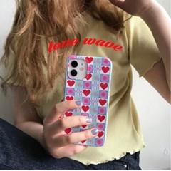 [뮤즈무드] love wave 아이폰케이스