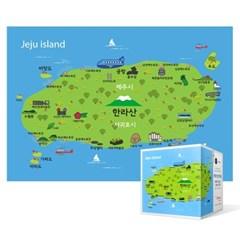 108피스 직소퍼즐 - 제주 지도 (미니)