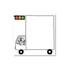 애디 트럭 떡메모지