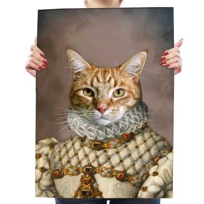 애완동물 사진으로 만드는 초상화포스터 여왕컬렉션