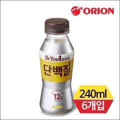 오리온 닥터유 단백질드링크 바나나맛 240mlx6