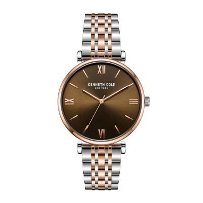 케네스콜 클래식 쿼츠 남성 메탈 손목시계 KC51121002