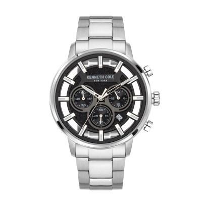 케네스콜 크로노 남성 메탈 손목시계 KCWGI2105201