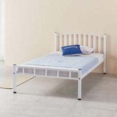 루엔 철재 곡선형 침대 프레임 슈퍼싱글+깔판포함