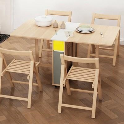 [아이니샵] 접이식 확장가능 식탁 테이블_(355011)