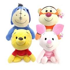 정품 대형 디즈니 베스트 프렌즈 곰돌이푸,피글렛,이요르,티거 싯팅