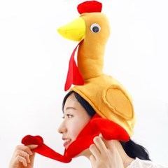 NEW 꼬꼬닭 치킨 인싸 모자_(301874194)