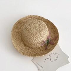 여름여성모자 비치 해변 신혼여행 휴양지 모자 올림챙_(477004)