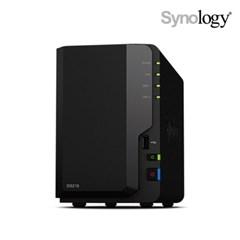 Synology DS218 NAS 스토리지 2베이 +공식총판+