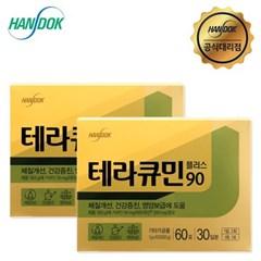 한독 테라큐민 플러스90 (60포x2박스) 강황 커큐민