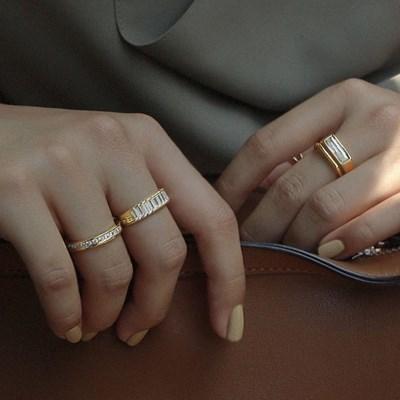 [4type] 여성 볼드 화려한 패션 반지