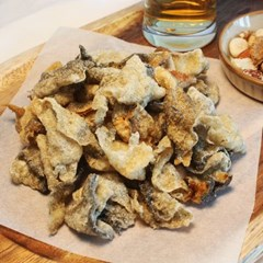 바삭한 황태 껍질 부각 황태 껍데기 튀각 200g