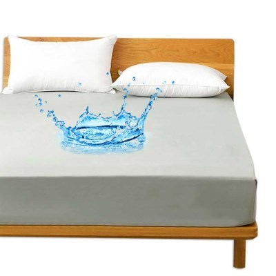 피칸데코 방수매트리스커버 K그레이 물세탁가능