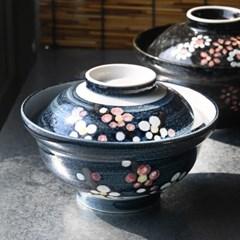 꽃기린 뚜껑 돈부리 텐동그릇_(1922665)