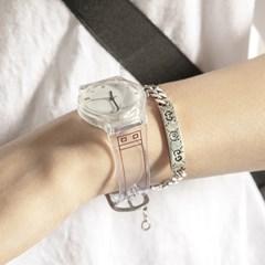 pvc 투명 손목시계 ac-9371c