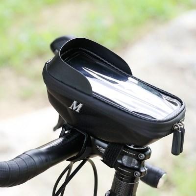 MD글로벌 자전거 핸드폰 거치대 가방