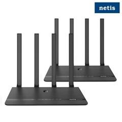 네티스 MEX01 기가와이파이 유무선 공유기 인터넷 2pack