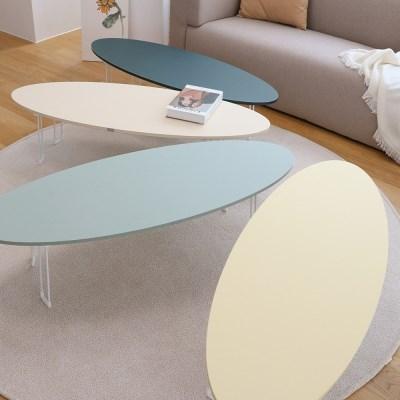 서핑보드 디자인 비스포크 LPM 접이식 좌식 거실 테이블