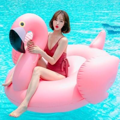 스윔어바웃 초대형 플라밍고 튜브 180CM- 핑크