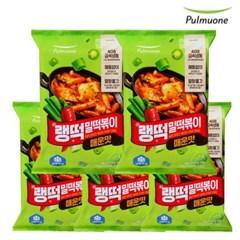 [풀무원]랭떡 밀떡볶이(매운맛)x5봉