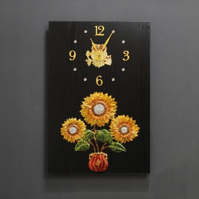 (kdyg024)해바라기벽장식/시계(40X60)_(1707519)