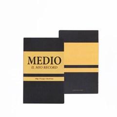 IL MIO RECORD NOTE MEDIO 레코드 메디오 노트