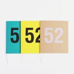 WEEKLY PLANNER ver.S No.52 위클리플래너(만년형)