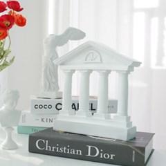 로마 기둥 장식 석고상 그리스 신전 인테리어 오브제 촬영소품