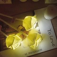 향기나는 러브로즈 LED 고백장미 조명