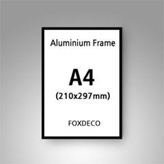 A4 무광 알루미늄 액자 ( 8종류 컬러)