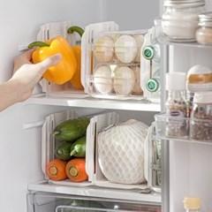 칸막이 길이 조절 냉장고 주방 정리 다용도 파티션 2p세트 2color