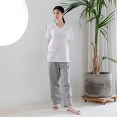 일상 오가닉 워싱잠옷바지(2 Size)