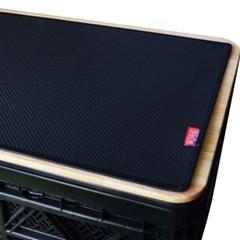 코리스 차박캠핑 무광 카본 테이블 매트 M