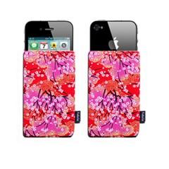 [FABRIX]핸드메이드 아이폰4 슬리브 케이스-Flower