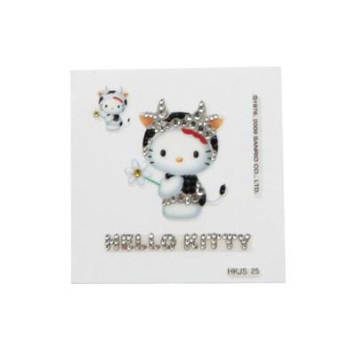 헬로 키티 12간지 스티커(소띠)