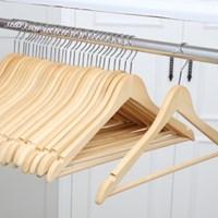 [홈앤하우스] 원목옷걸이 40P