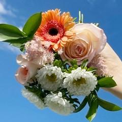 [플플](생화)여름에 필요한 꽃다발 화훼농가돕기 미니 꽃 배송