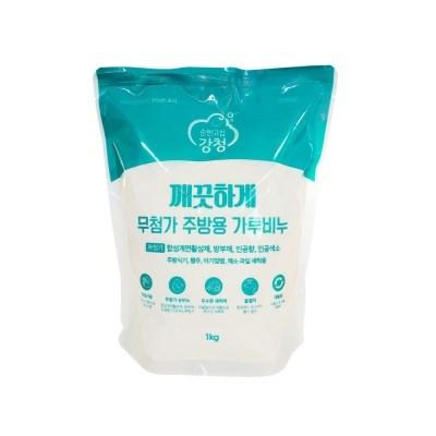 강청 무첨가 깨끗하게 1종주방용가루비누1kg