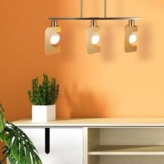 LED 직부등 샤키 일자 3등 카페 매장조명_(2053310)
