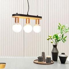 LED 펜던트 타니 3등 카페 매장조명_(2053309)