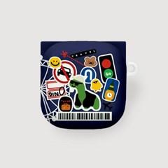 BUDS LIVE 하드 버즈케이스 / 트래블바코드-085
